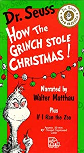 How The Grinch Stole Christmasif I Ran The Zoo Parents Choice Award For Multimedia Vhs by Random House Video