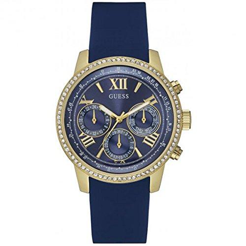 Guess Orologio da donna cronografo quarzo silicone W0616L2