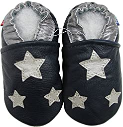Silver star dark blue 6-12M
