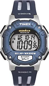 Timex Men's T5D641 Ironman Triathlon 30-Lap Shock Resistant Watch
