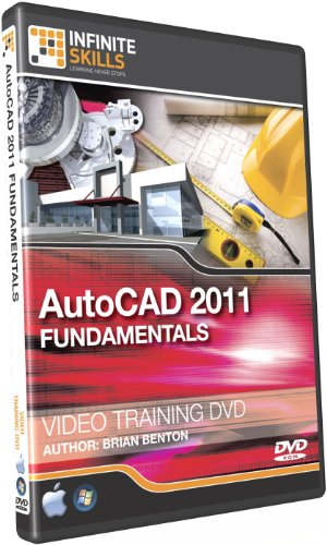 Infinite Skills AutoCAD 2011 Tutorial - Video Training DVD-ROM (PC/Mac)