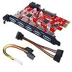 Inateck PCI-E to USB 3.0 5-Port PCI E...