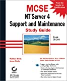 img - for MCSE: NT Server 4 Support and Maintenance Study Guide book / textbook / text book
