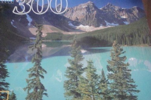 Guild Puzzle Lake Moraine Canada Mountain Scene 300 pieces Complete