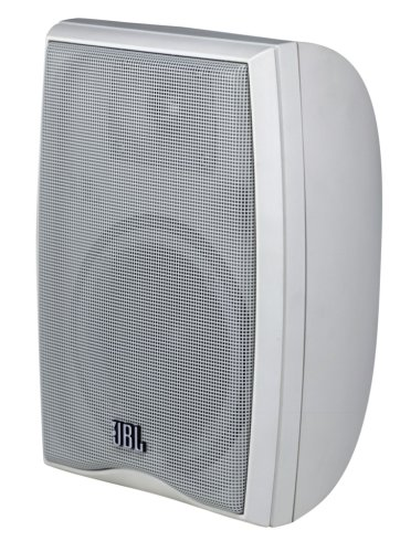 Leviton Aen24 Outdoor And All Weather Two-Way Loudspeaker, White