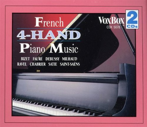 French 4 Hand Piano Music