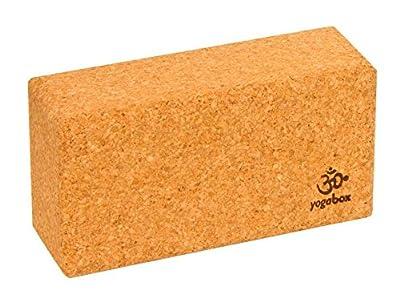 Yogaklotz Kork Basic, 23 x 12 x 7, 5 cm 100% Naturkork