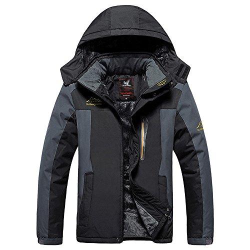 esterna-impermeabile-mountain-jacket-giacca-in-pile-antivento-sci-lega-uomo-nero