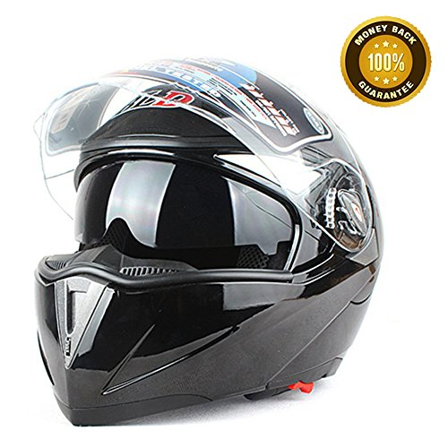 A.B Crew DOT Full Face Motorcycle Helmet Dual Lens Motocross Helmet Off Road Helmets