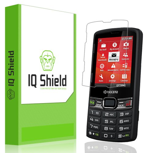 Iq Shield Liquidskin - Kyocera Contact Screen Protector - High Definition (Hd) Ultra Clear Smart Film - Premium Protective Screen Guard - Extremely Smooth / Self-Healing / Bubble-Free Shield - Kit Comes With Retail Packaging And 100% Lifetime Replacement