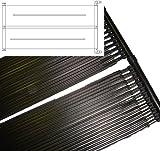 Premium-Pool Solarmatte mit Schlauchanschluss