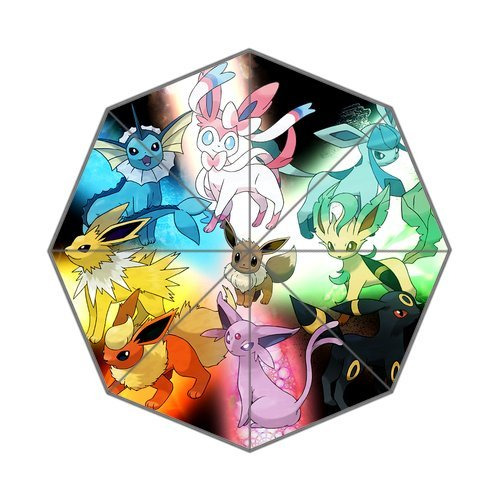 Pokemon Eevee Family Foldable Umbrella