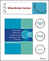 Elementary Differential Equations and Boundary Value Problems 10e Binder Ready Version + WileyPLUS Registration Card