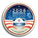 Official Obama 2008 Democratic National Convention Pin / Button