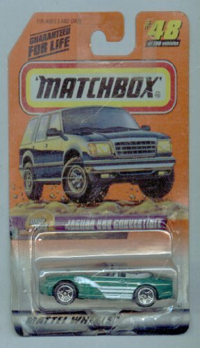 Matchbox 1999-48/100 Drop Tops Series 10 Jaguar XK8 Convertible 1:64 Scale