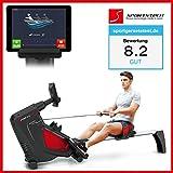 Sportstech Rudergeräte RX500 RX600 mit Smartphone steuerbar...