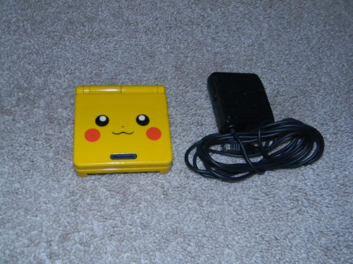 Nintendo Gameboy Advance SP: Limited Edition Pikachu Yellow (Gameboy Advance Pokemon Ruby compare prices)