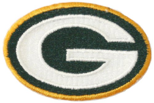 "Green Bay Packers Iron on Patch Embroidered NFL Applique 2 5/8"" X 1 3/4"" at Amazon.com"