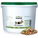 AniForte Natur Nagerfutter 10 Liter u.a. für Hamster, Meerschweinchen, Kaninchen, Chinchilla- Naturprodukt für Nager