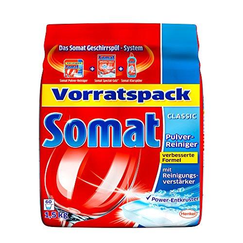 Somat Geschirr-Reiniger Pulver Nachfuellpack, 1,5kg
