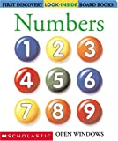 Look Inside: Numbers (First Discovery) (0439297281) by Valat, Pierre-Marie