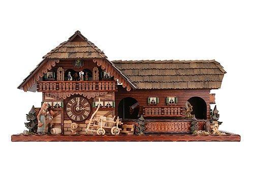 ean 4250742211417 45100 allemand horloge coucou de la for t noire avec mouvemente 8 jour style. Black Bedroom Furniture Sets. Home Design Ideas