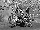 "Jim ""Jimbo"" Pomery, Bultaco 400 Photo 24""x36"" Fine Art Print on Canvas"