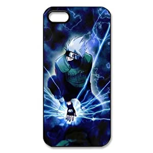 TP-DIY 3D Printed Protector Hard Case Skin for Apple Iphone 5 with Hatake Kakashi Background ¨C NARUTO Series TP-DIY-00346