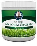 Raw Organic Wheat Grass Juice Powder - Green Super Food - 92 Minerals, 20 Amino Acids - Amazing Smooth Taste - No Gluten - Non-GMO - 5.3 oz