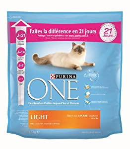 Purina One Chat - Adulte Light - 1,5 kg