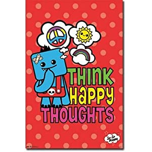 (22x34) So So Happy - Think Happy Thoughts Poster