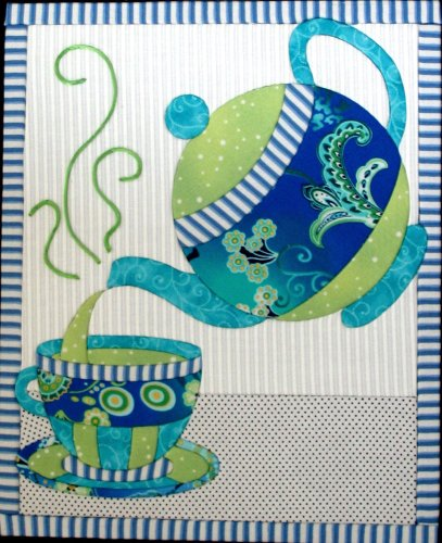 Artsi2 A2TEAST1 Tea Set Wall Hanging Kit