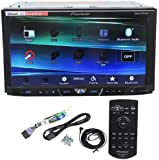 "Pioneer AVH-X4600BT 7"" Double Din Car Stereo Receiver Bluetooth, Siri ""Eyes-Free"", APP Radio Mode, Pandora, iPhone/iPod/Android Compatible, USB/AUX Input and Wireless Remote Control"