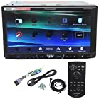 Pioneer AVH-X4600BT 7 Double Din Car Stereo Receiver Bluetooth, Siri Eyes-Free, APP Radio Mode, Pandora, iPhone/iPod/Android Compatible, USB/AUX Input and Wireless Remote Control