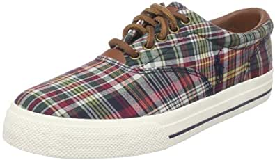 Polo Ralph Lauren Men's Vaughn Sneaker,Fruit Madras,11 M US