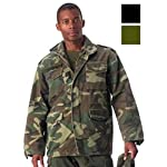 Woodland Camouflage Military Vintage M-65 Field Jacket