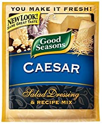 Good Seasons Salad Dressing & Recipe Mix, Caesar, 1.2-Ounce Packets (Pack of 24)