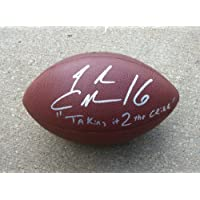 Josh Cribbs Cleveland Browns Inscribed Taking It 2 the Cribb Signed Autographed Football Authentic Certified Coa