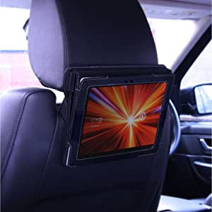 Snugg Galaxy Tablet Car Headrest Mount Holder - Combines with all Snugg Galaxy Tablet 1 Leather Cases