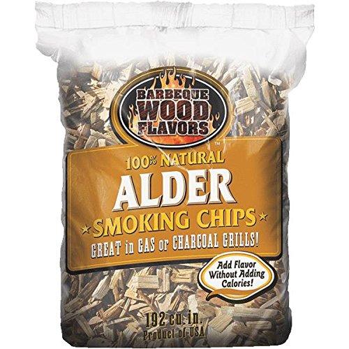 Barbeque Wood Flavors 90305 Wood Chips-2.25LB ALDER WOOD CHIPS