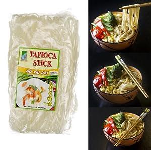 Tapioca Asian Stick Noodle (Hu Tiu Dai) - 2 Packs