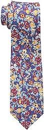 Ben Sherman Men\'s Goose Floral Tie, Red, One Size