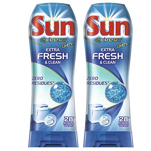 sun-gel-lave-vaisselle-expert-extra-fresh-clean-28-lavages-lot-de-2