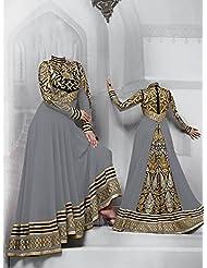 Typify Georgette Semistitch Dress Material - B0196QB23C