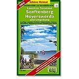 Lausitzer Seenland, Senftenberg, Hoyerswerda und Umgebung 1 : 50 000. Radwander- und Wanderkarte: Ausflüge zwischen...