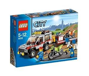 Lego 4433 Dirt Bike Transporter V29
