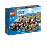 Lego City - 4433 - Jeu de Construction - Le Transporteur de Motos - Tout Terrain