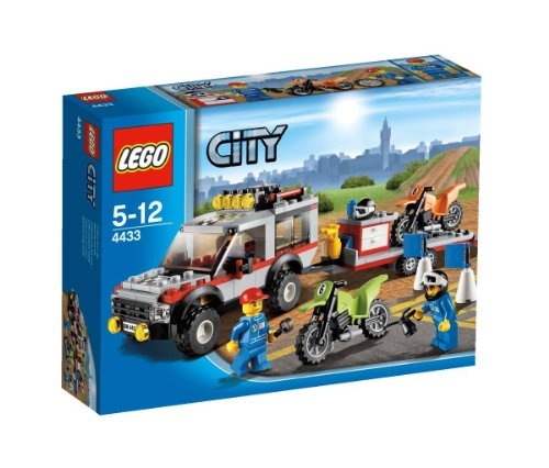 Lego City Dirt Bike Transporter front-886481