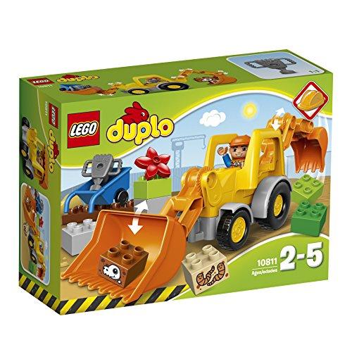LEGO 10811 DUPLO Town Backhoe Loader Construction Set by LEGO