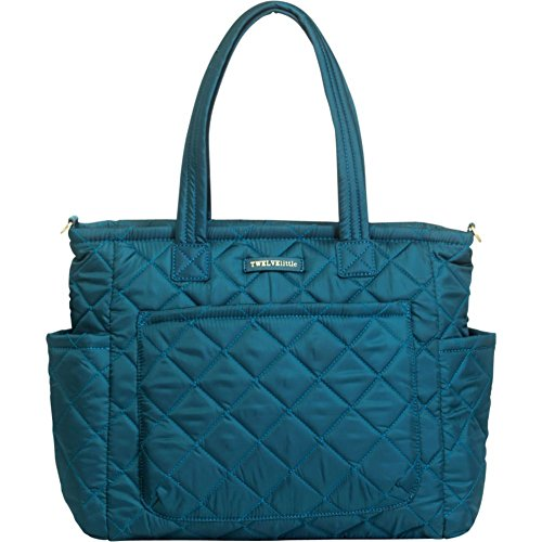 TWELVElittle Carry Love Tote Diaper Bag, Teal